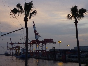2009港 夕暮れ